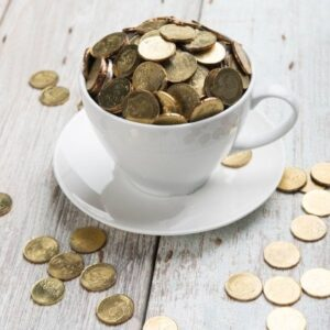 Coins for Coffie - Cappuccino
