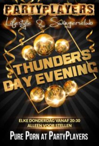 Thundersday Evening! PartyPlayers