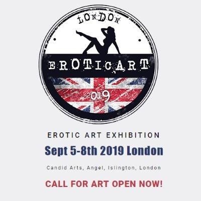 EROTIC ART EXHIBITION Sept 5-8th 2019 London
